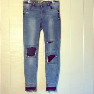 NOISY MAY patch jeans